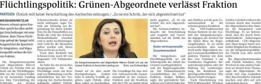 WNZ 9.9.15 Mürvet verlässt die Landtagsfraktion